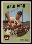 1959 Topps #414   Dale Long Front Thumbnail