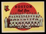 1959 Topps #248  Red Sox Team Checklist  Front Thumbnail