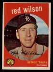 1959 Topps #24   Red Wilson Front Thumbnail