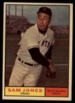 1961 Topps #555   Sam Jones Front Thumbnail