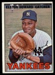 1967 Topps #25  Elston Howard  Front Thumbnail