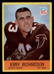 1967 Philadelphia #8  Jerry Richardson  Front Thumbnail