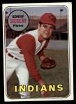 1969 Topps #455  Sonny Siebert  Front Thumbnail
