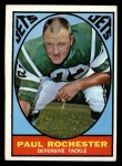 1967 Topps #100   Paul Rochester Front Thumbnail