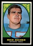 1967 Topps #87   Rich Zecher Front Thumbnail