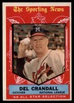 1959 Topps #567  All-Star  -  Del Crandall Front Thumbnail