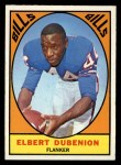 1967 Topps #20   Elbert Dubenion Front Thumbnail