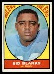 1967 Topps #51   Sid Blanks Front Thumbnail