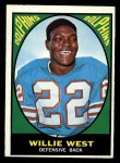 1967 Topps #80   Willie West Front Thumbnail