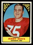 1967 Topps #67   Jerry Mays Front Thumbnail