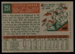 1959 Topps #251  Clete Boyer  Back Thumbnail