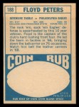 1968 Topps #188   Floyd Peters Back Thumbnail