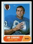 1968 Topps #208   Jim Gibbons Front Thumbnail