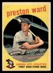 1959 Topps #176  Preston Ward  Front Thumbnail