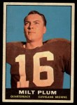 1961 Topps #68  Milt Plum  Front Thumbnail