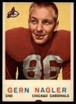 1959 Topps #93   Gern Nagler Front Thumbnail