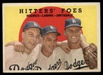 1959 Topps #262  Hitters' Foes  -  Clem Labine / Johnny Podres / Don Drysdale Front Thumbnail