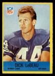 1967 Philadelphia #66   Dick LeBeau Front Thumbnail