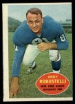 1960 Topps #81  Andy Robustelli  Front Thumbnail