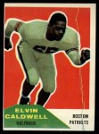 1960 Fleer #120  Elvin Caldwell  Front Thumbnail