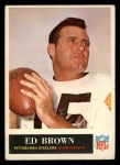 1965 Philadelphia #145  Ed Brown   Front Thumbnail