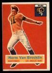 1956 Topps #6  Norm Van Brocklin  Front Thumbnail