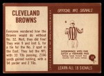 1967 Philadelphia #37   Cleveland Browns Team Back Thumbnail