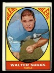 1967 Topps #55   Walt Suggs Front Thumbnail