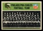 1965 Philadelphia #127   Philadelphia Eagles  Front Thumbnail
