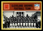 1967 Philadelphia #37   Cleveland Browns Team Front Thumbnail