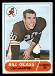 1968 Topps #154  Bill Glass  Front Thumbnail