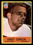 1967 Philadelphia #4  Randy Johnson  Front Thumbnail