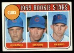 1969 #602 ^COR^  -  Alec Distaso / Don Young / Jim Qualls Cubs Rookies Front Thumbnail