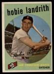 1959 Topps #422  Hobie Landrith  Front Thumbnail