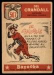 1959 Topps #567  All-Star  -  Del Crandall Back Thumbnail