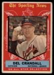 1959 Topps #567  All-Star  -  Del Crandall Front Thumbnail