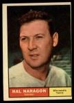 1961 Topps #92   Hal Naragon Front Thumbnail