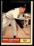 1961 Topps #171  Paul Foytack  Front Thumbnail