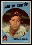 1959 Topps #38  Morrie Martin  Front Thumbnail