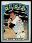 1972 Topps #550   Brooks Robinson Front Thumbnail