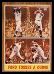 1962 Topps #315   -  Whitey Ford Ford Tosses a Curve Front Thumbnail