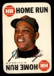 1968 Topps Game Inserts #8    Willie Mays  Front Thumbnail