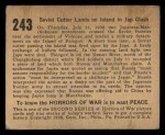 1938 Gum Inc. Horrors of War #243   Soviet Cutter Lands on Island in Jap Clash Back Thumbnail