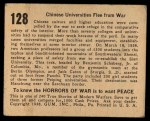 1938 Gum Inc. Horrors of War #128   Chinese Universities Flee From War Back Thumbnail