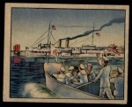 1938 Gum Inc. Horrors of War #268   Gunboat Oahu Sails in Defiance of Japs Front Thumbnail
