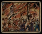 1938 Gum Inc. Horrors of War #42   Mob Burns Madrid Cathedral Front Thumbnail