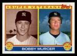1983 Topps #783  Super Veteran  -  Bobby Murcer Front Thumbnail