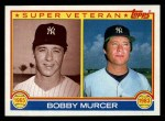 1983 Topps #783   -  Bobby Murcer Super Veteran Front Thumbnail