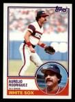 1983 Topps #758  Aurelio Rodriguez  Front Thumbnail