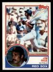 1983 Topps #30  Jim Rice  Front Thumbnail